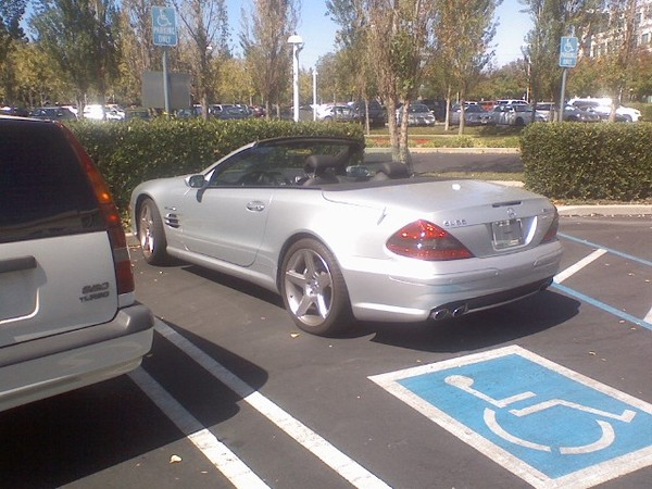 Steve jobs drove a mercedes benz sl55 amg without a for Mercedes benz job openings
